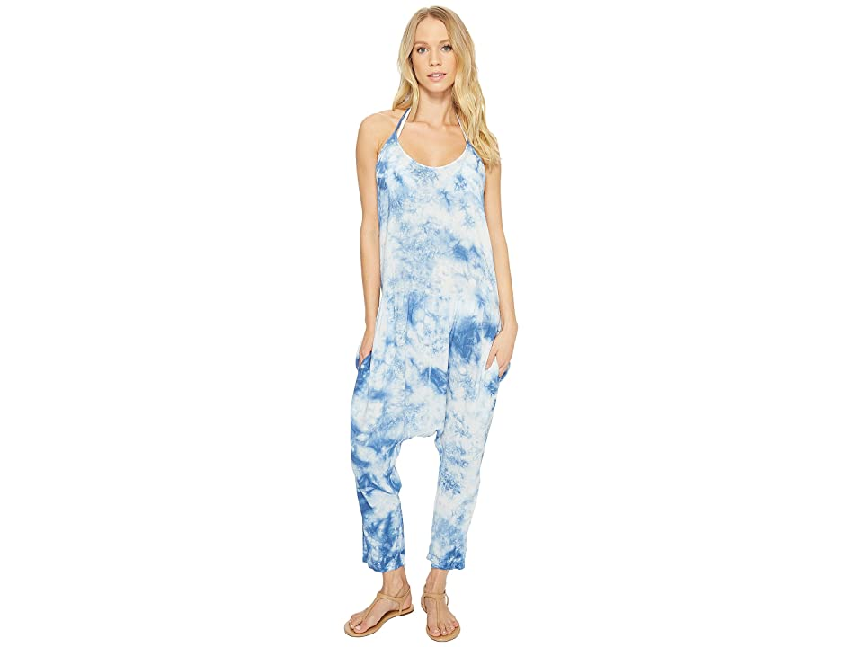 Body Glove Molly Jumpsuit Cover-Up (Denim) Women's Jumpsuit & Rompers One Piece