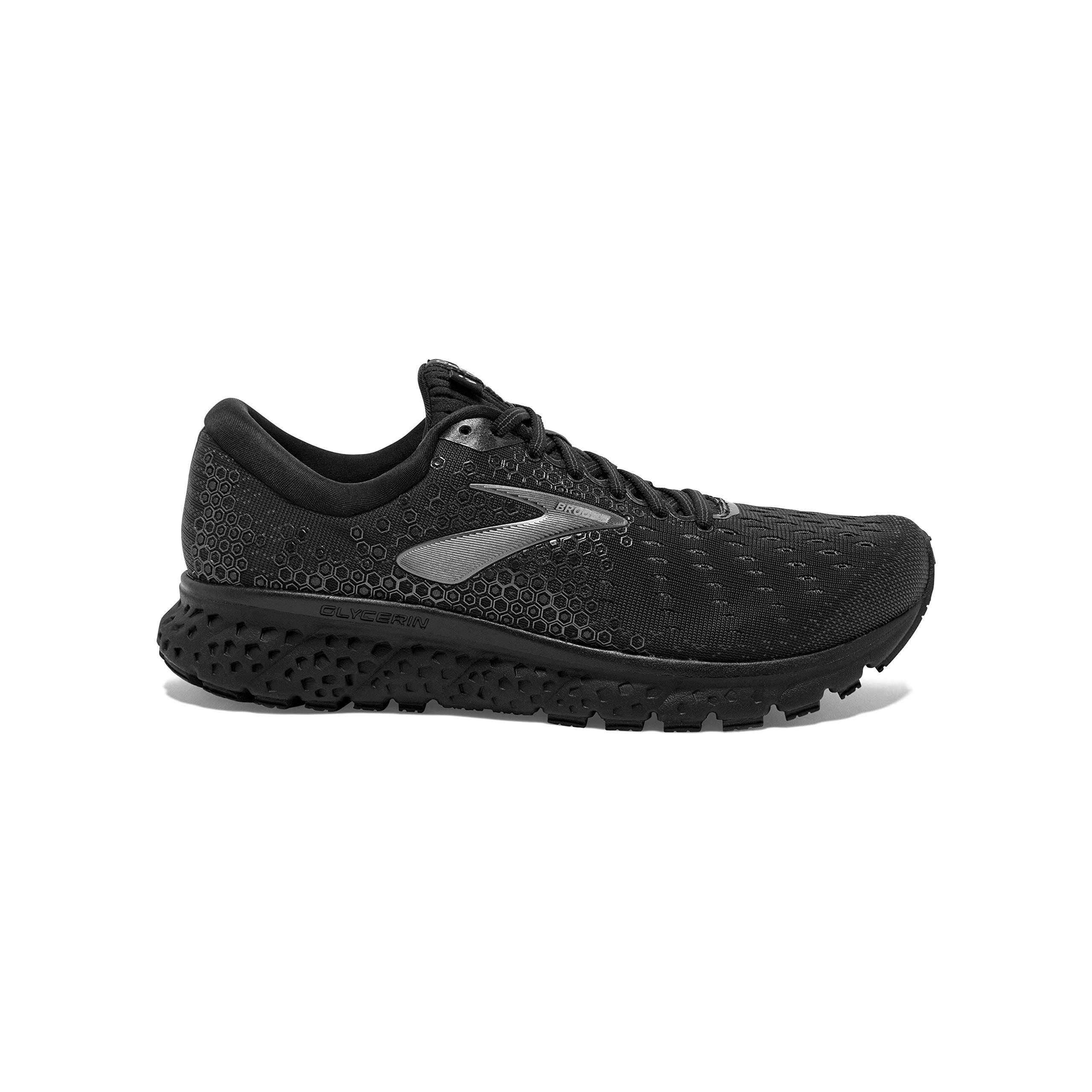 Brooks - Modelo Glycerin 17 - Zapatillas para hombre, Negro (Negro/Ébano), 42 EU: Amazon.es: Deportes y aire libre