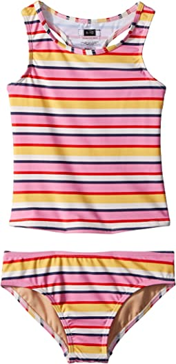 Toobydoo - Sunshine Stripe Tankini (Infant/Toddler/Little Kids/Big Kids)