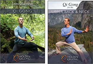 DVD Bundle: Lee Holden Introduction to Qi Gong for Beginners/ Qi Gong for Upper Back & Neck Pain Relief (YMAA) **NEW HD 2017**