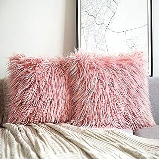 Amazon.com Pink , Throw Pillow Covers / Decorative Pillows