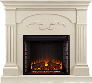 Best corner fireplace mantel kits Reviews