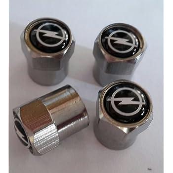Juego de tapones para v/álvula de rueda de coche Vauxhall Corsa Opel Nova Astra Insignia etc.