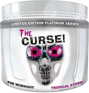 Cobra Labs The Curse Advanced Pre-Workout 50 Servings Tropical Storm