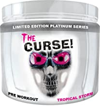 Cobra Labs The Curse Advanced Pre-Workout 50 Servings Tropical Storm