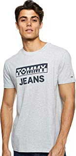 Tommy Jeans Men's Tjm Split Block Logo T-Shirt