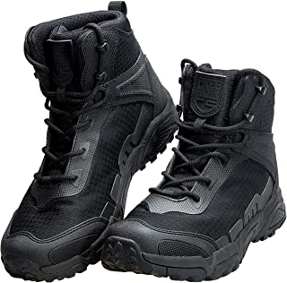 Men's Waterproof Hiking Boots 6 Inches Lightweight Work...