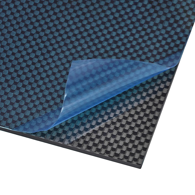 Over item handling ☆ uxcell Carbon Fiber Plate Time sale Panel Sheets Car 200mm 0.5mm 250mm x