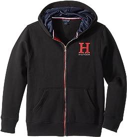Tommy Hilfiger Kids - Matt Logo Hilfiger Hoodie (Big Kids)