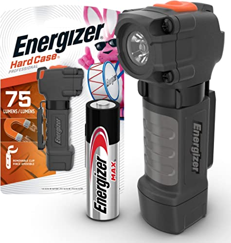 Energizer Magnetic Tactical Flashlight, High Lumens LED Flashlight for Work, Camping Accessories, Hurricane Supplies,...