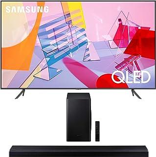 "Samsung QN65Q60TA 65"" Ultra High Definition 4K Quantum HDR Smart QLED TV with a Samsung HW-Q70T 3.1.2 Ch Dolby Atmos Sound..."
