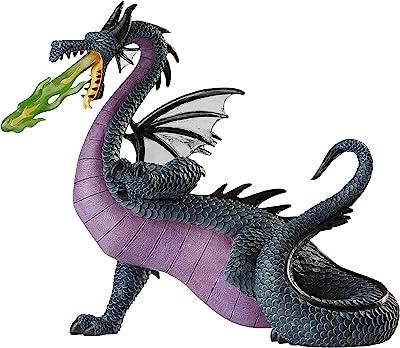 Enesco Disney Showcase Collection Sleeping Beauty Maleficent Dragon Figurine, 7.95 Inch, Multicolor
