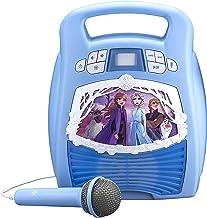 eKids Frozen 2 Bluetooth Portable MP3 Karaoke Machine Player with Light Show Store Hours..