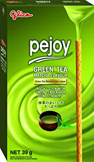 Glico Pejoy Green Tea Biscuit Stick, 39g