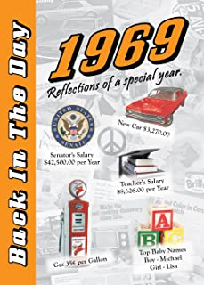 1969 Back In The Day - 24-page Greeting Card / Booklet with Envelope