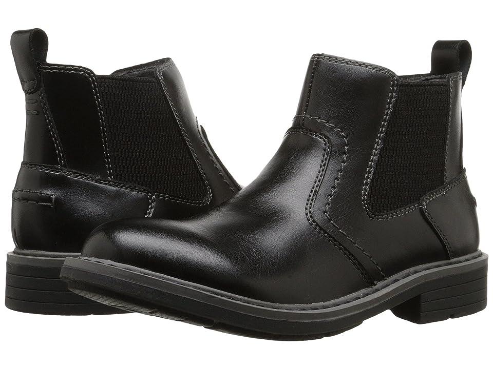 Florsheim Kids Studio Gore Boot Jr. (Toddler/Little Kid/Big Kid) (Black) Boys Shoes