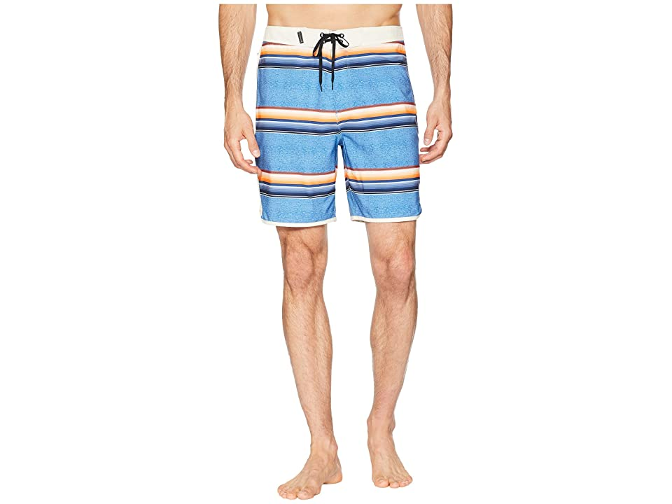 Hurley Phantom Serape 18 Stretch Boardshorts (Gym Blue) Men
