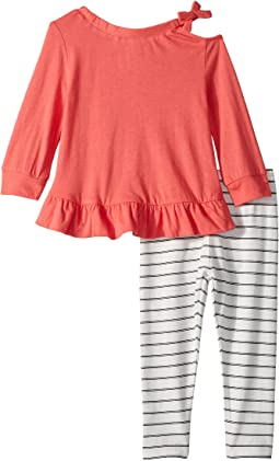 Cold Shoulder Top Set (Infant)