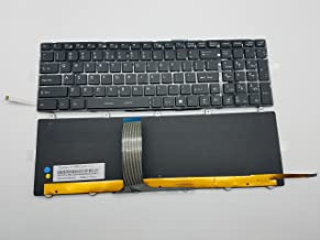 New Keyboard for MSI GE60 GE70 GT60 GT70 16GF 16GC 16F4 16F3 1762 Series US Layout P/N: V139922AK1 Black Frame Backlight