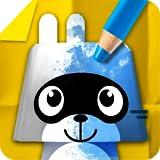 Pango Paper Color - juego de libros para colorear para niños