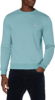Original Penguin Men's Sticker Pete Fleece Crew Sweater