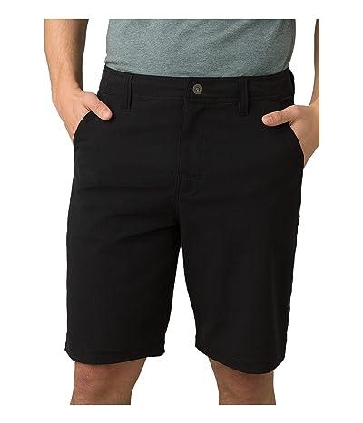 Prana Hybridizer Shorts (Black) Men