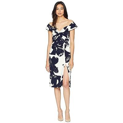 Bardot Botanica Dress (Camillia Navy) Women