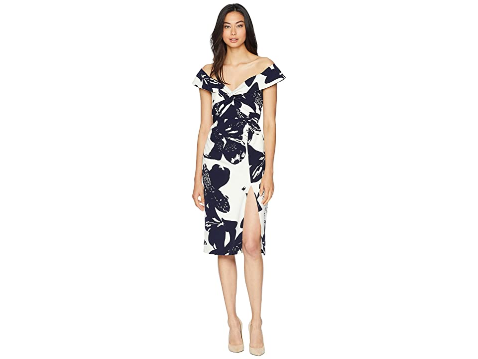 Bardot Botanica Dress (Camillia Navy) Women