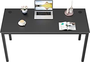 DESIGNA Computer Desk 55 inches Study Writing PC Laptop Table Workstation with Cable Manager, Office Home Desk Multi-Funct...