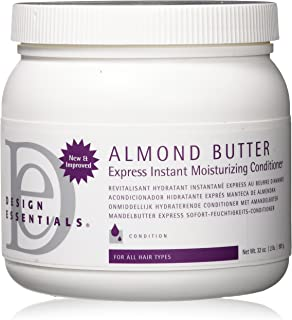 Design Essentials Almond Butter Express Instant Moisturizing Conditioner, 32 Ounce