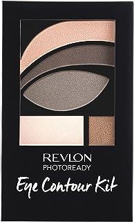 Revlon PhotoReady Eye Contour Kit, Eyeshadow Palette with 5 Wet/Dry Shades & Double-Ended Brush Applicator, Metropolitan (...