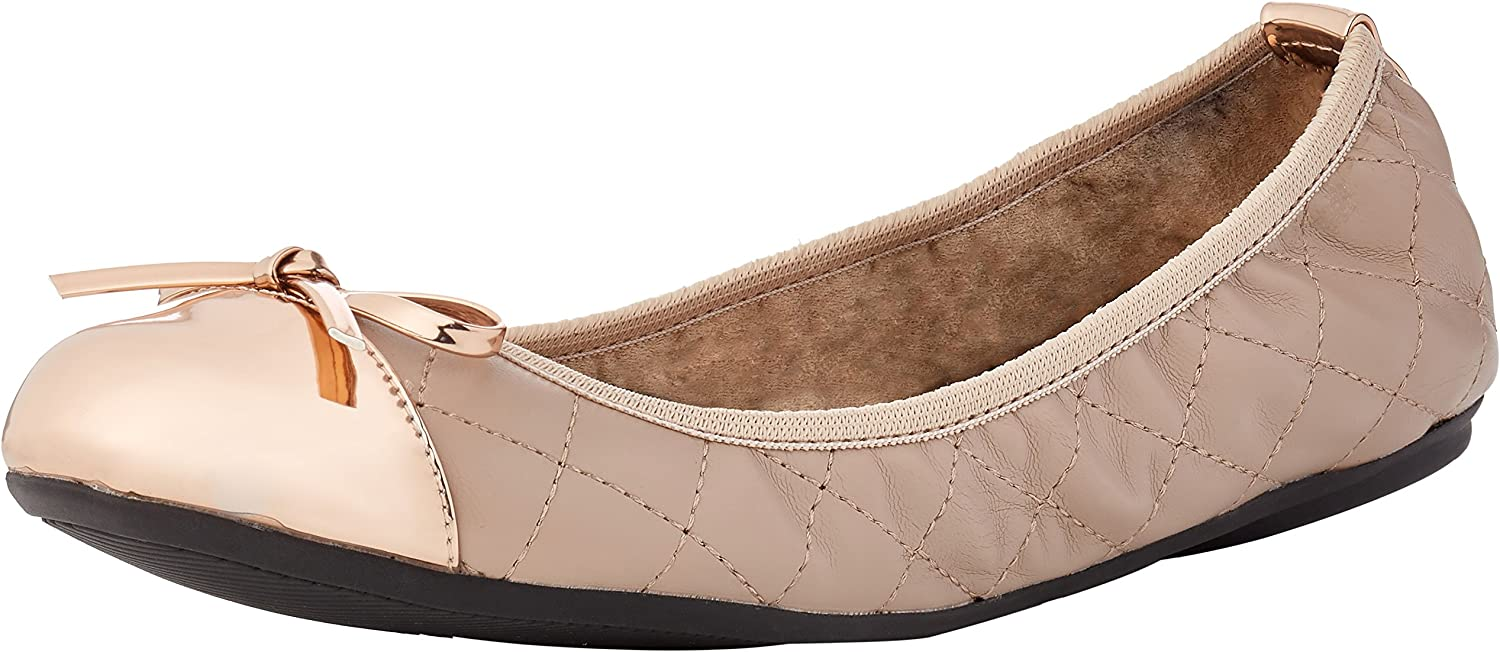 Butterfly Twists Olivia - Mink pink gold (Nude) Womens shoes