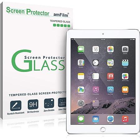 amFilm Glass Screen Protector for iPad 9.7 6th Gen, 5th Gen, iPad Pro 9.7, iPad Air, Air 2, Tempered Glass, Apple Pencil Compatible