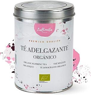comprar comparacion LaBonita Nature, Té Adelgazante quemagrasa para pérdida de peso. 100% Orgánico. Compuesto de té rojo pu-erh, manzana, hibi...