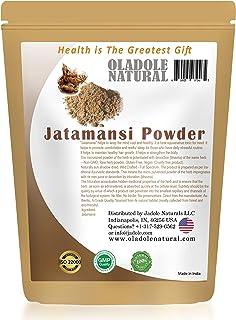 Oladole Natural Jatamansi Powder (Rhizome) (Nardostachys Jatamansi) (Ayurvedic Stress Relief Formulation) 100% Natural