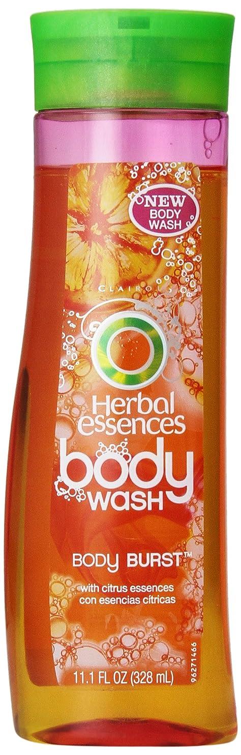 無駄にキャプテンハドルHerbal Essences Body Burst Body Wash 11.1 Fl Oz by P&G [並行輸入品]