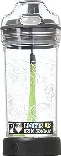 Igloo Yew Stuff Kids Water Bottle LED Light Up Mermaid Design 14 ounces