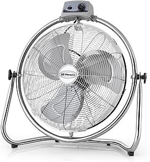 Orbegozo PWO 1952 - Ventilador industrial, aspas 50 cm de diámetro, 3 velocidades de ventilación, cabezal oscilante multiorientable, asa de transporte, 130 W