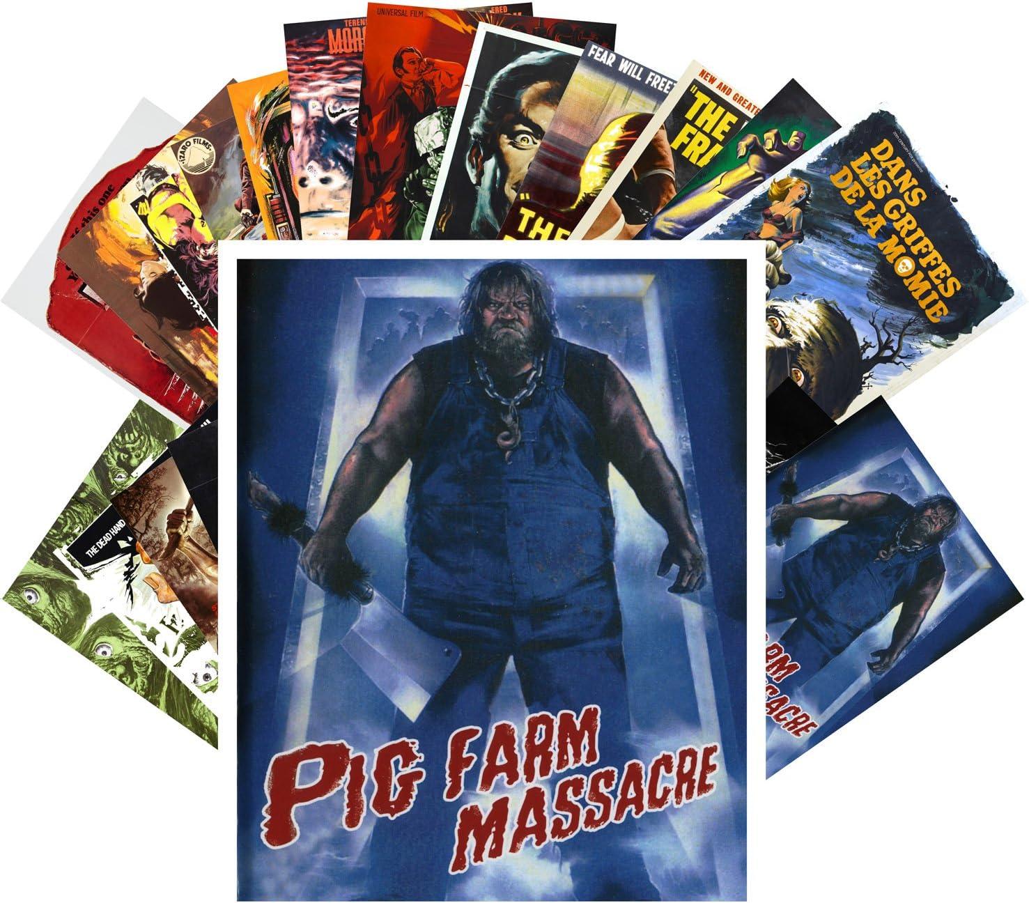 Postcard Set Superlatite 24 cards Frankenstein Vintage Ranking TOP9 Horror Trash Monster