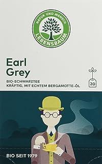 Lebensbaum Bio Schwarztee Earl Grey, 3er Pack 3 x 40 g
