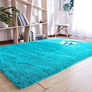 Noahas Super Soft Modern Shag Area Rugs Fluffy Living...