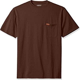 Pendleton Men's Short Sleeve Crew Neck Subtle Stripe T-Shirt