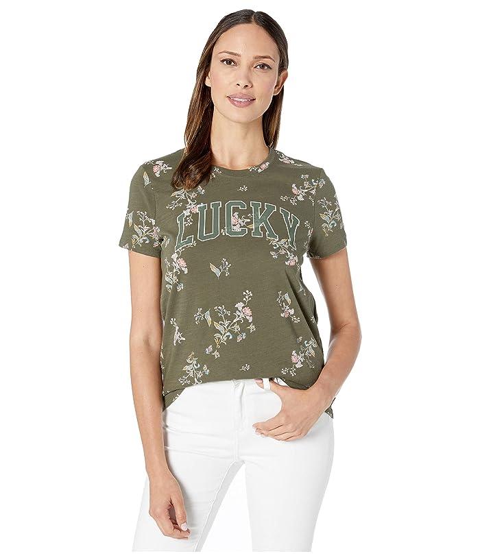 aa668930e5a Lucky Brand Floral Tee | Zappos.com