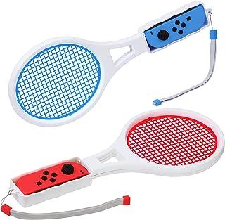JOOSHY マリオテニス エースに対応テニスラケット Nintendo Switch Joy-Con用, 2個セット
