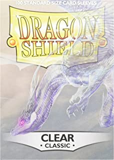 Dragon Shield Standard Sleeves (Clear)