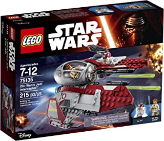 LEGO Star Wars Obi-Wanâ€s Jedi Interceptor 75135