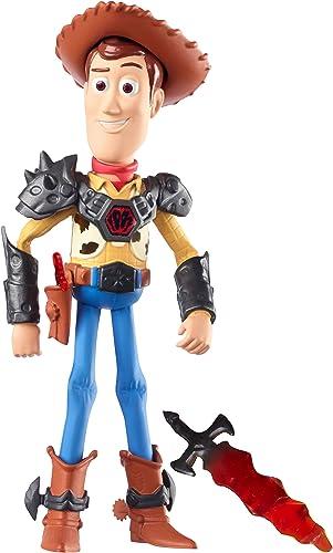 Mattel DNH39 - Disney Pixar - Toy Story - Woody Figur in Rüstung