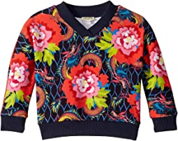 All Over Paris Sweatshirt (Toddler/Little Kids)