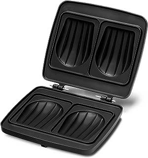 Croquade M005 Toasted Sandwich Waffle Plate - Cast Aluminum