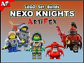Clip: Lego Set Builds Nexo Knights - Artifex